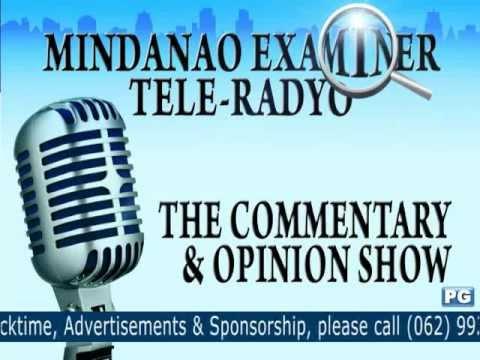 Mindanao Examiner Tele-Radyo Jan. 10, 2013