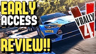 V-RALLY 4 *EARLY ACCESS* REVIEW!! (Full Breakdown)