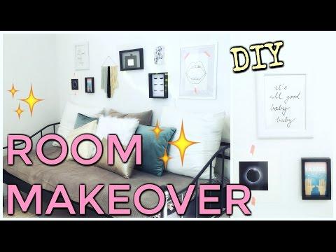 Zimmer Umstyling - DIY - Wanddeko und Kunstfell Kissen selbst gemacht | funnypilgrim