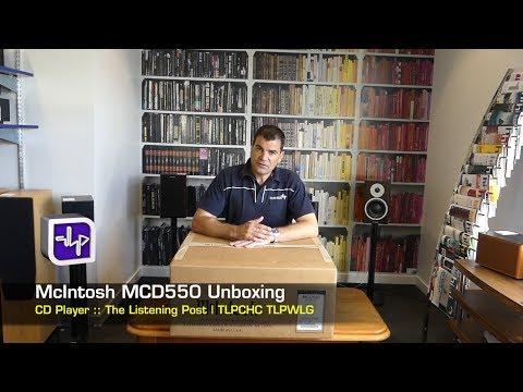 McIntosh MCD550 SACD Unboxing   The Listening Post   TLPCHC TLPWLG