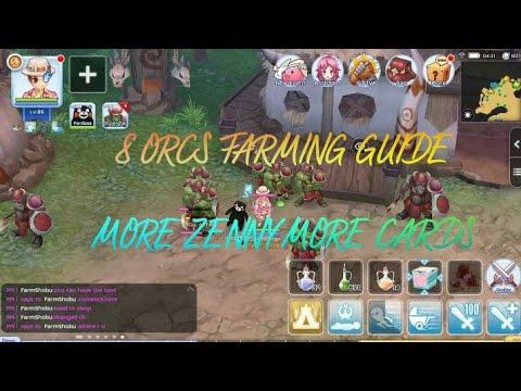 8 ORCS FARMING