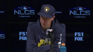 Counsell on 13th inning, Machado situation from NLCS Game 4