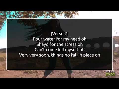 Iyanya - Iyanu (Holy Water) Lyrics Video