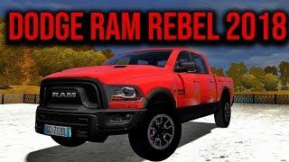 City Car Driving - Dodge Ram 1500 Rebel 5.7 V8 2018 | Custom Sound | + Download [LINK] | 1080p & G27