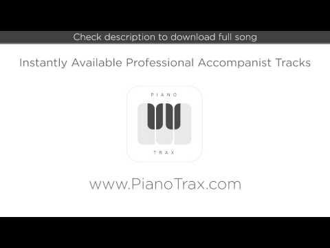 I Want To Go To Hollywood - Grand Hotel - Piano Accompaniment - Key:A