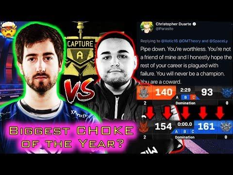 BRUTAL Reverse Sweep vs Parasite's New Team in Challengers' Cup #2!!    CoD League Recap