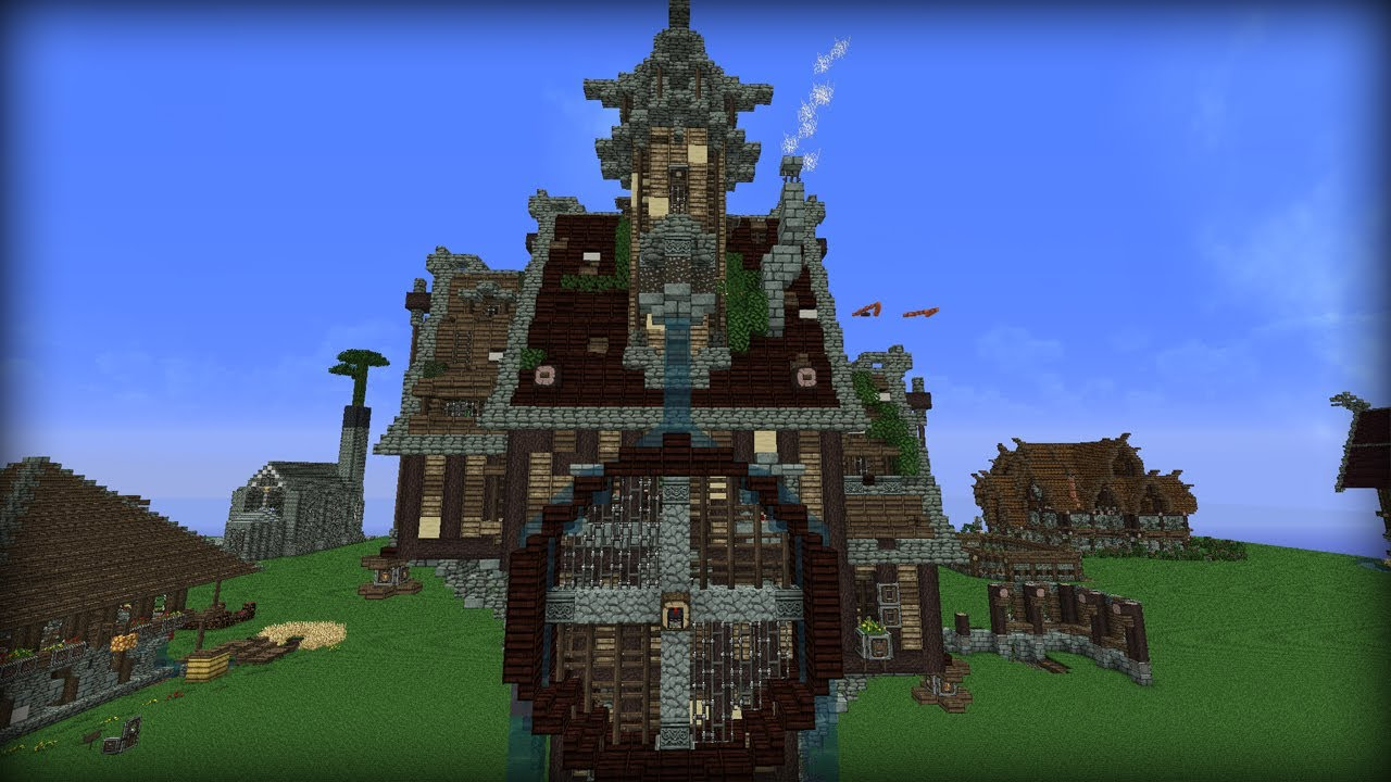 Mittelalterliches Haus - Minecraft Ideen #01 - YouTube