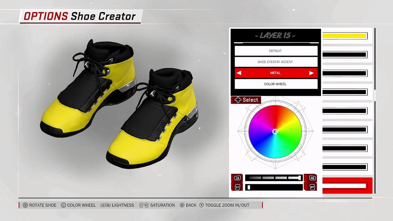 NBA 2K18 Shoe Creator - Air Jordan 17 x SoleFly