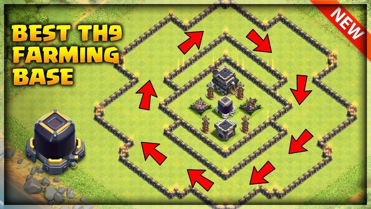 Unbeatable Best Th9 Base 2019 5