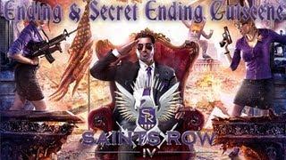 Saints Row IV (4) Ending + Secret Ending Cutscene