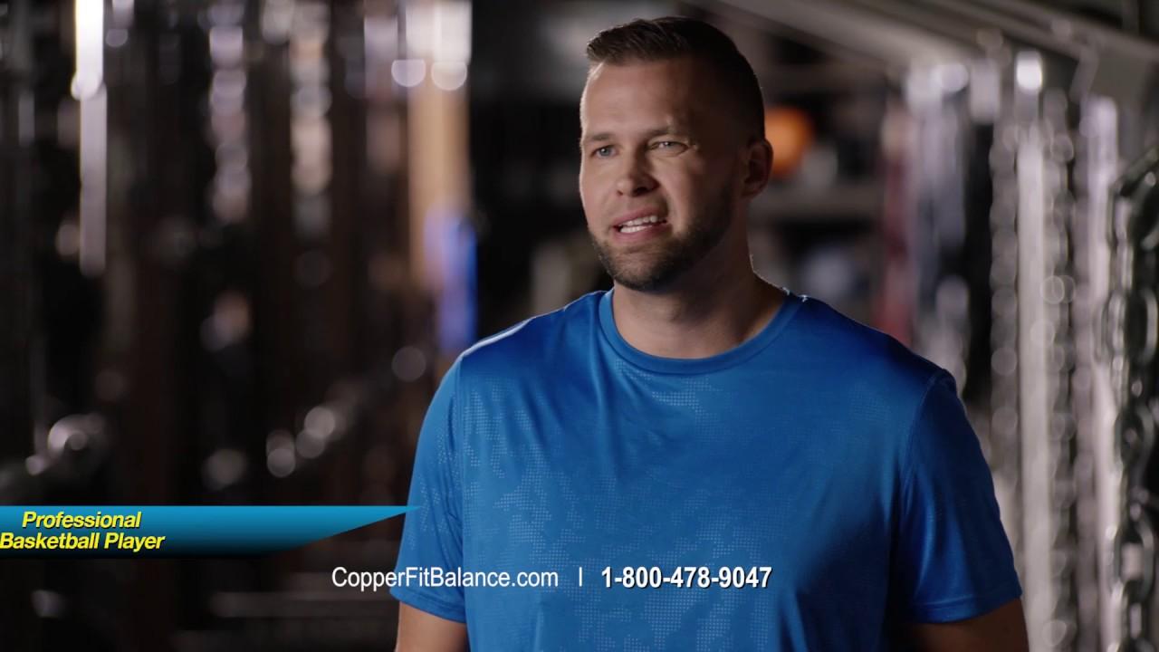 e139bd2538 Copper Fit Balance Brett Favre - YouTube