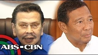 Binay, Erap dispute on Central Market property