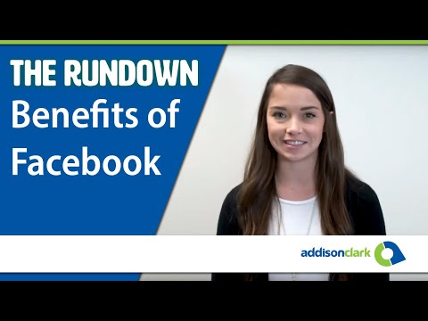 The Rundown: Benefits of Facebook