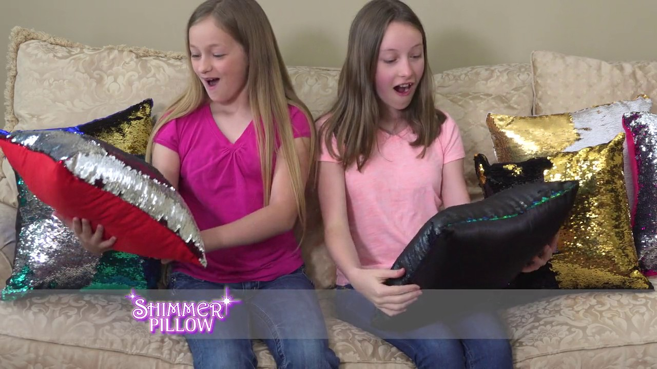 Shimmer Pillow Official Commercial! - YouTube 45f90e28794