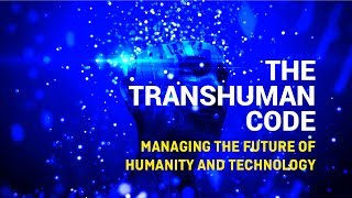 "Gambar cover The TransHuman Code, the first interactive ""knowledge platform"""
