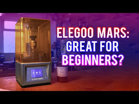 Elegoo Mars: Perfect for Beginners to Resin 3D Printing?