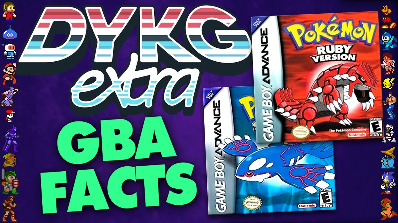 Game Boy Advance Games Facts - Did You Know Gaming? Feat  Greg