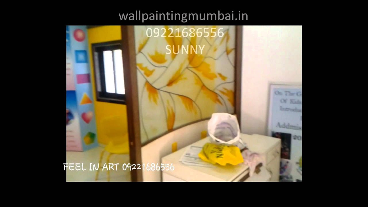 Play School Themes Wall Painting/ Decoration Ideas - YouTube