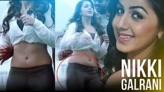 Nikki Galrani Hot Navel  Dance  slow motion edit