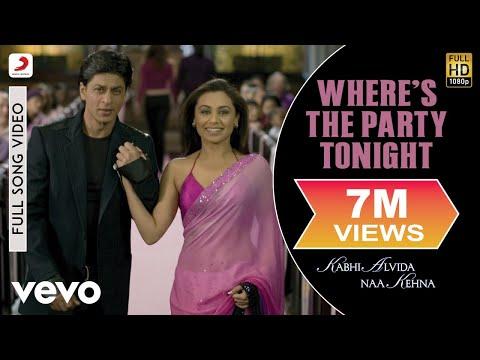 Where's The Party Tonight - KANK | John | Abhishek | Preity Zinta