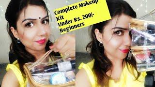 Bridal Makeup Kit under Rs. 200 🤔(मेकअप किट में क्या क्या सामान होना चाहिए)