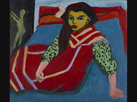 EXPRESIONISMO *** Alban Berg y Ernst Ludwig Kirchner