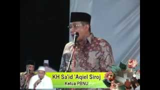 KH Said Aqiel Siroj di Khoul Syekh Rahma...