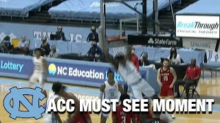 UNC Forward Day'Ron Sharpe Makes The Follow Slam Look Easy