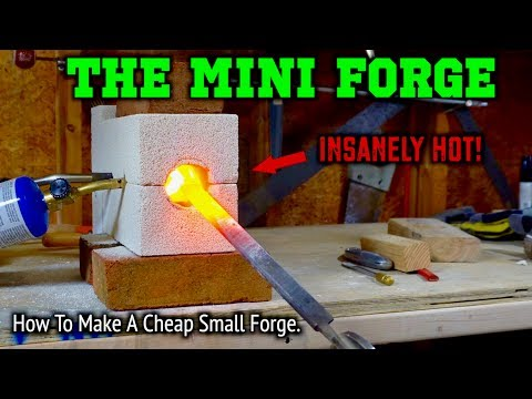 How To Make A Mini Forge For Knife Making