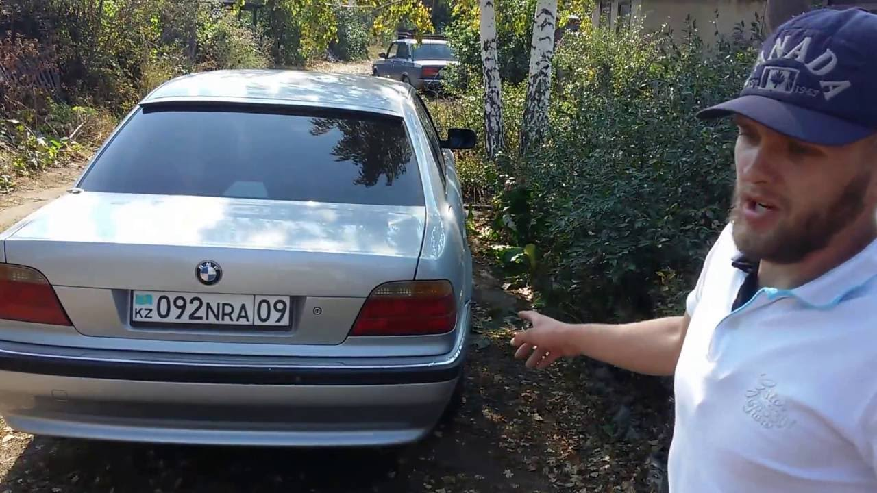 Обзор, тест-драйв BMW 728.