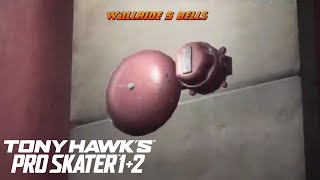 Wallride 5 Bells Tutorial - Tony Hawk's Pro Skater 1 + 2