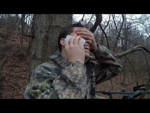 Massive Buck Kill With Crossbow