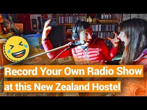 Recording a Radio Show at a Hostel - New Zealand's Biggest Gap Year – BackpackerGuide.NZ