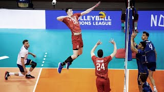 Fastest Middle Blocker in the World | Ilyas Kurkaev | Crazy Volleyball Actions (HD)