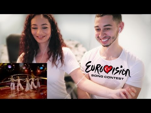 Eurovision Turkey Winner Sertab Erener - Everyway That I Can Reaction 🇹🇷 | Jay & Rengin