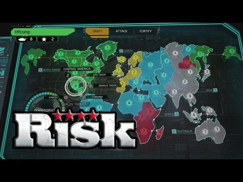 Risk Let's Play (PS4, XBox1, PS3, XBox360) Gameplay With Live Commentary Part 1 of 3
