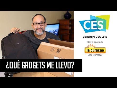 CES 2018: ¿Qué gadgets me llevo?