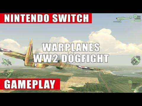 Warplanes: WW2 Dogfight Nintendo Switch Gameplay