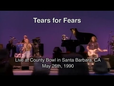 Tears for Fears at Santa Barbara County Bowl 1990