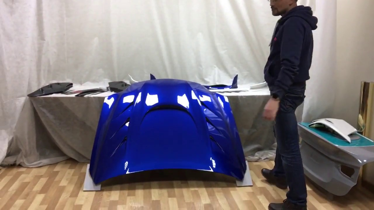 Тюнинг Капот на Lexus IS