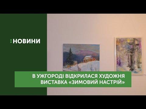В Ужгороді відкрилася художня виставка «Зимовий настрій»