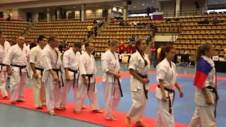 соревнования по карате киокушинкай видео