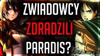 ZWIADOWCY ZDRADZILI PARADIS!? - Attack On Titan 109 |REPLAY