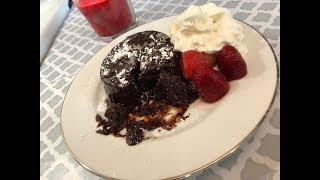 How to Make Chocolate Molten/Lava Cake | চকলেট ল্যাভ কেক