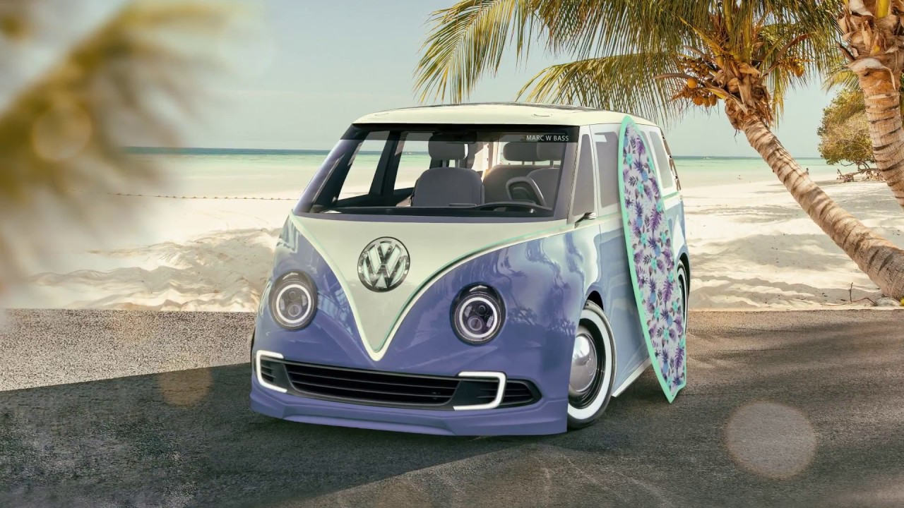 VW Campervan Modern Concept