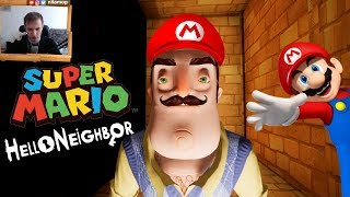 №963: СУПЕР МАРИО В ПРИВЕТ СОСЕД МОД КИТ(Hello Neighbor Mod Kit super mario)