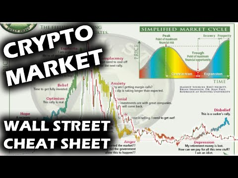 Crypto Market SHOCKINGLY Matches The WALL STREET CHEAT SHEET With Bitcoin Ripple XRP And Altcoins