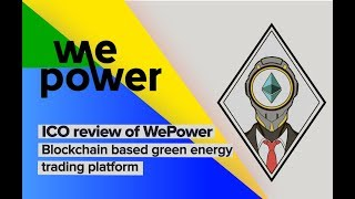 Baixar WePower ICO Review / WPR tokens / Renewable energy project