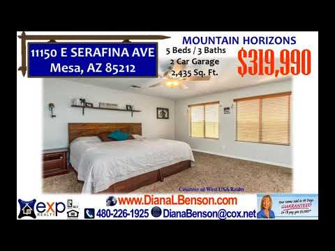 5 Bedroom - 3 Bath home for sale in Mesa School District