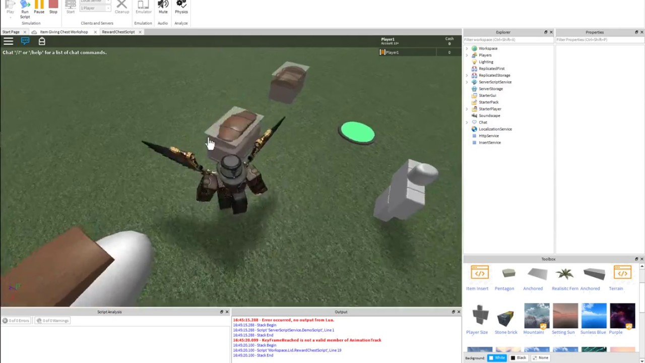 Making Animations Run in Roblox Using Scripting